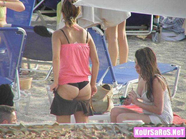Πιπινοκωλαράκια σε Ελληνική παραλία... 62