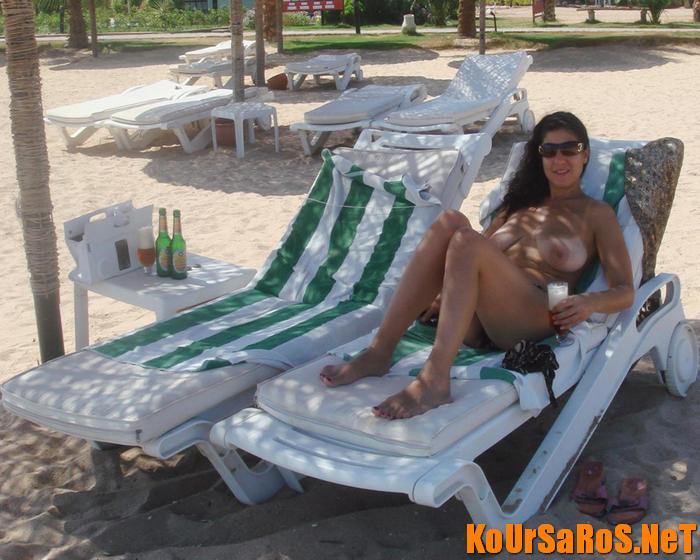 Замужней женщины на курорте видео