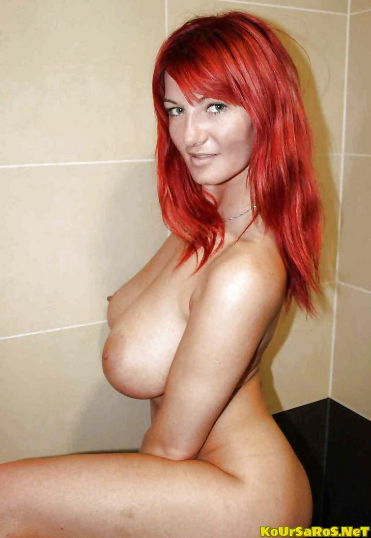 Pregnant Naked Red