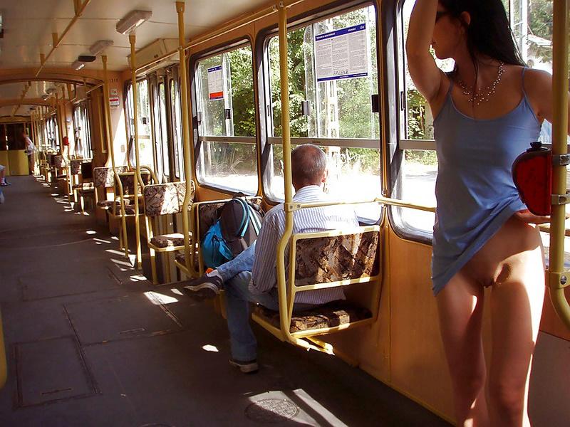 фото засветов в общественном транспорте вас
