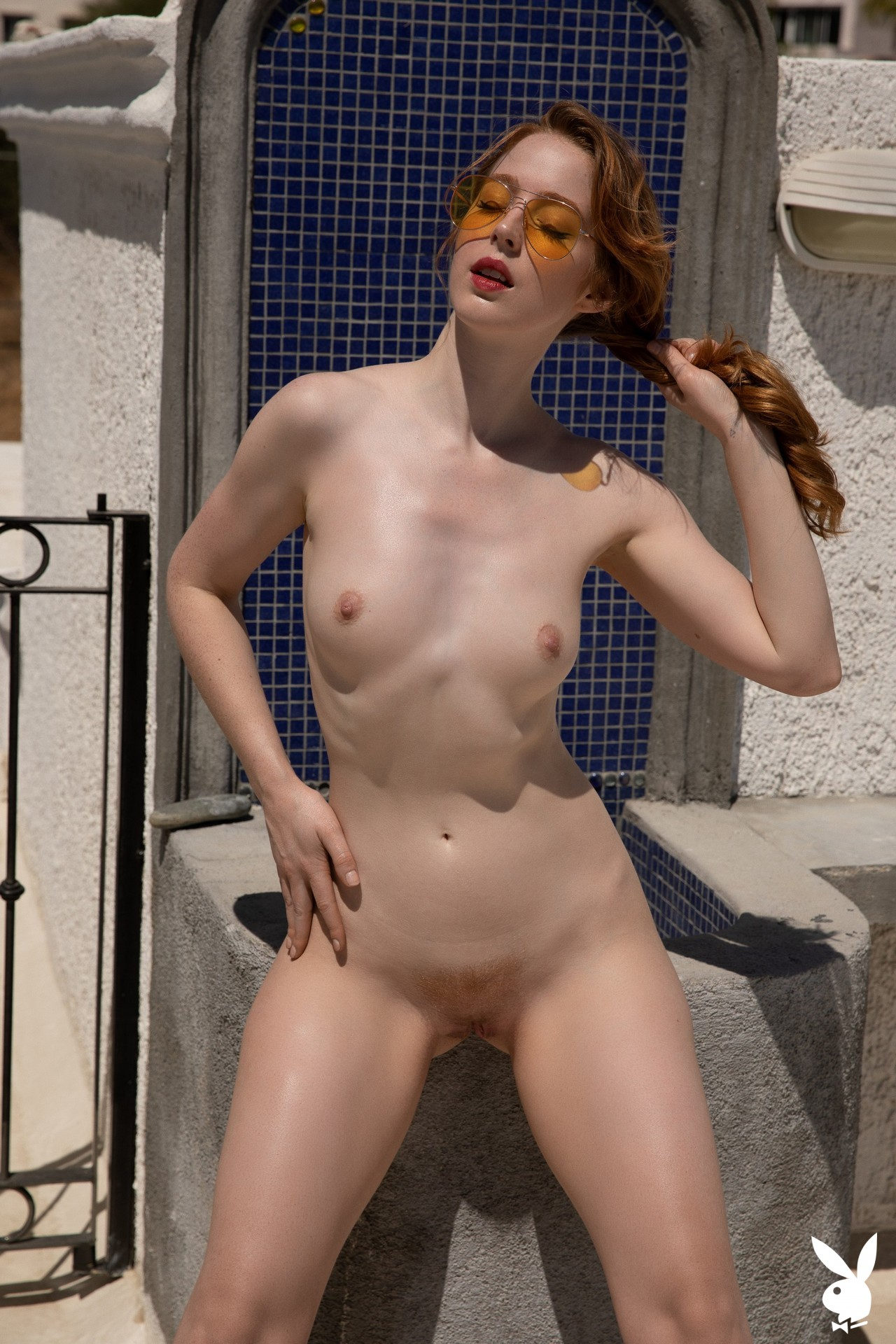 Erna O'hara In Soft Sunlight Playboy Plus (16)