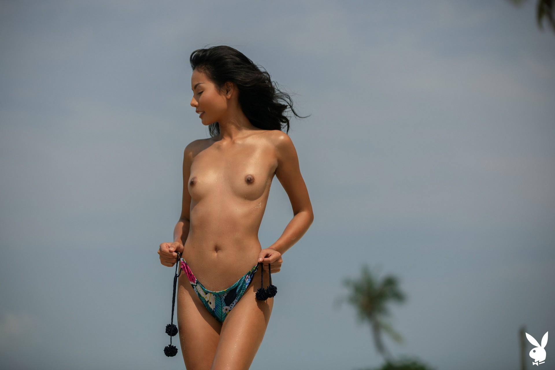 Magen Hana In Island Mentality Playboy Plus (10)