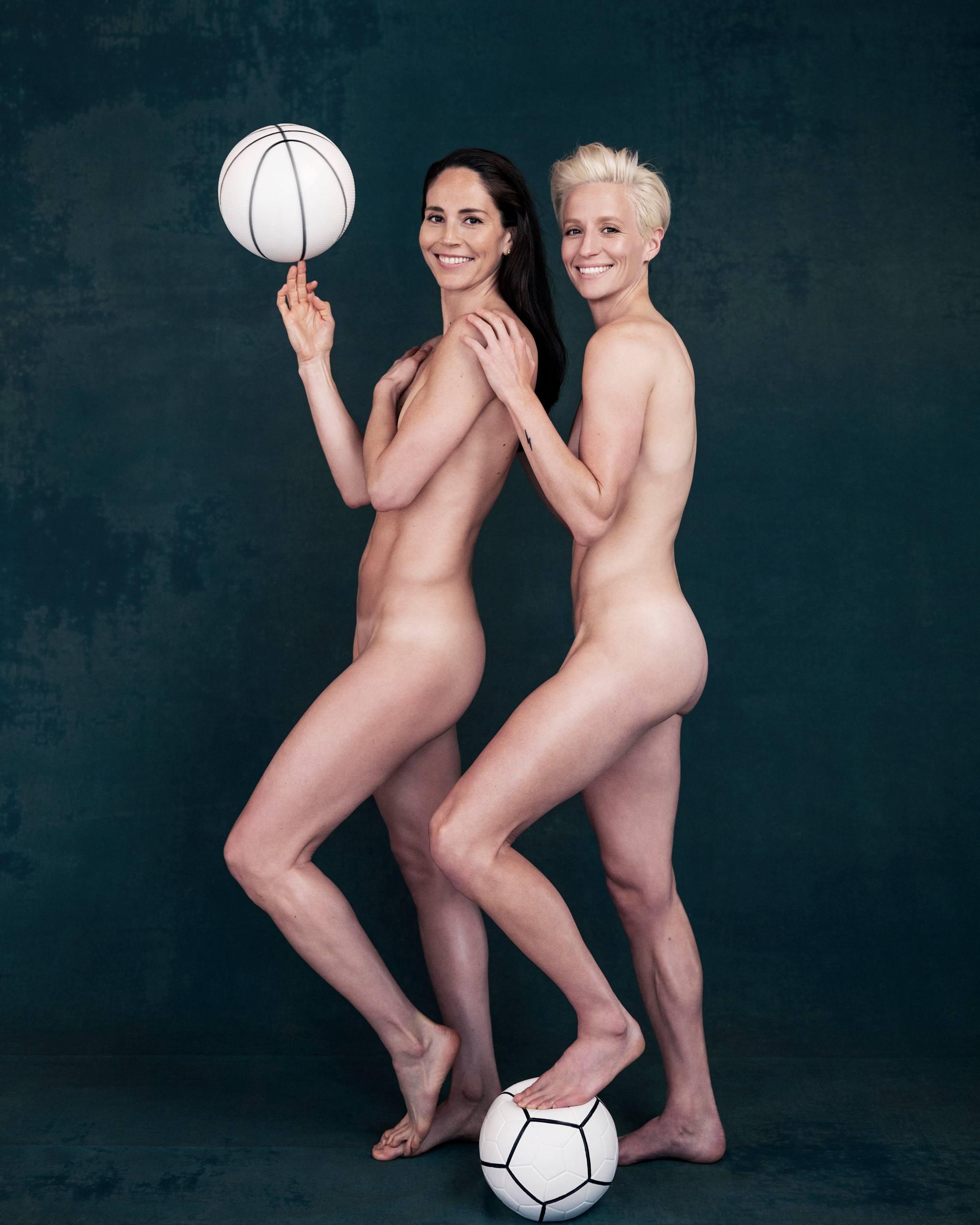 Sue Bird, Megan Rapinoe Nude 0001