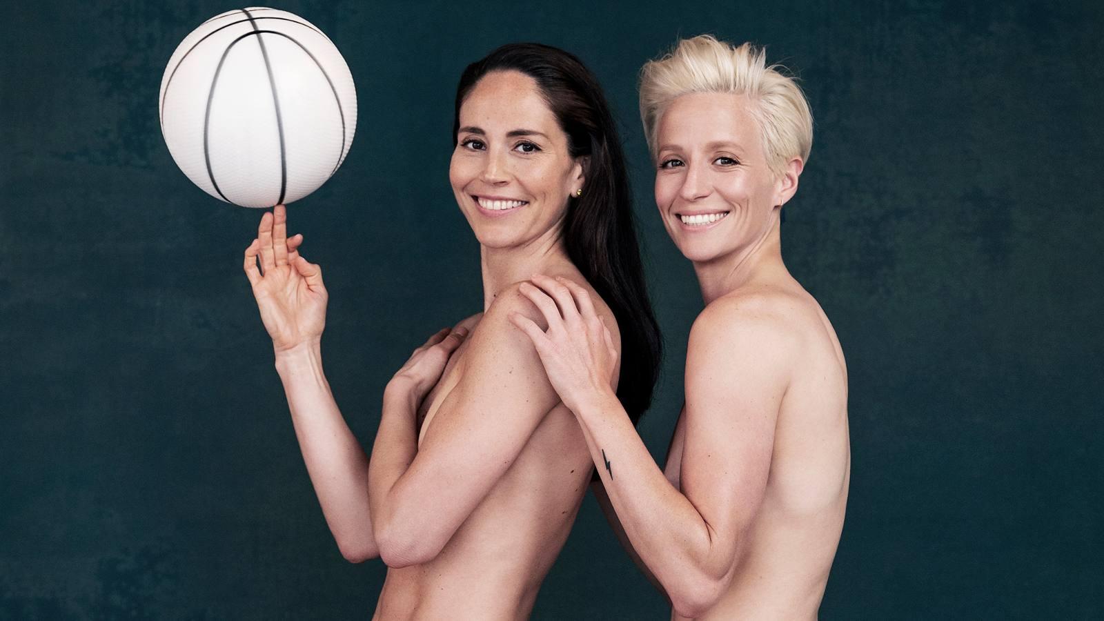 Sue Bird, Megan Rapinoe Nude 0006