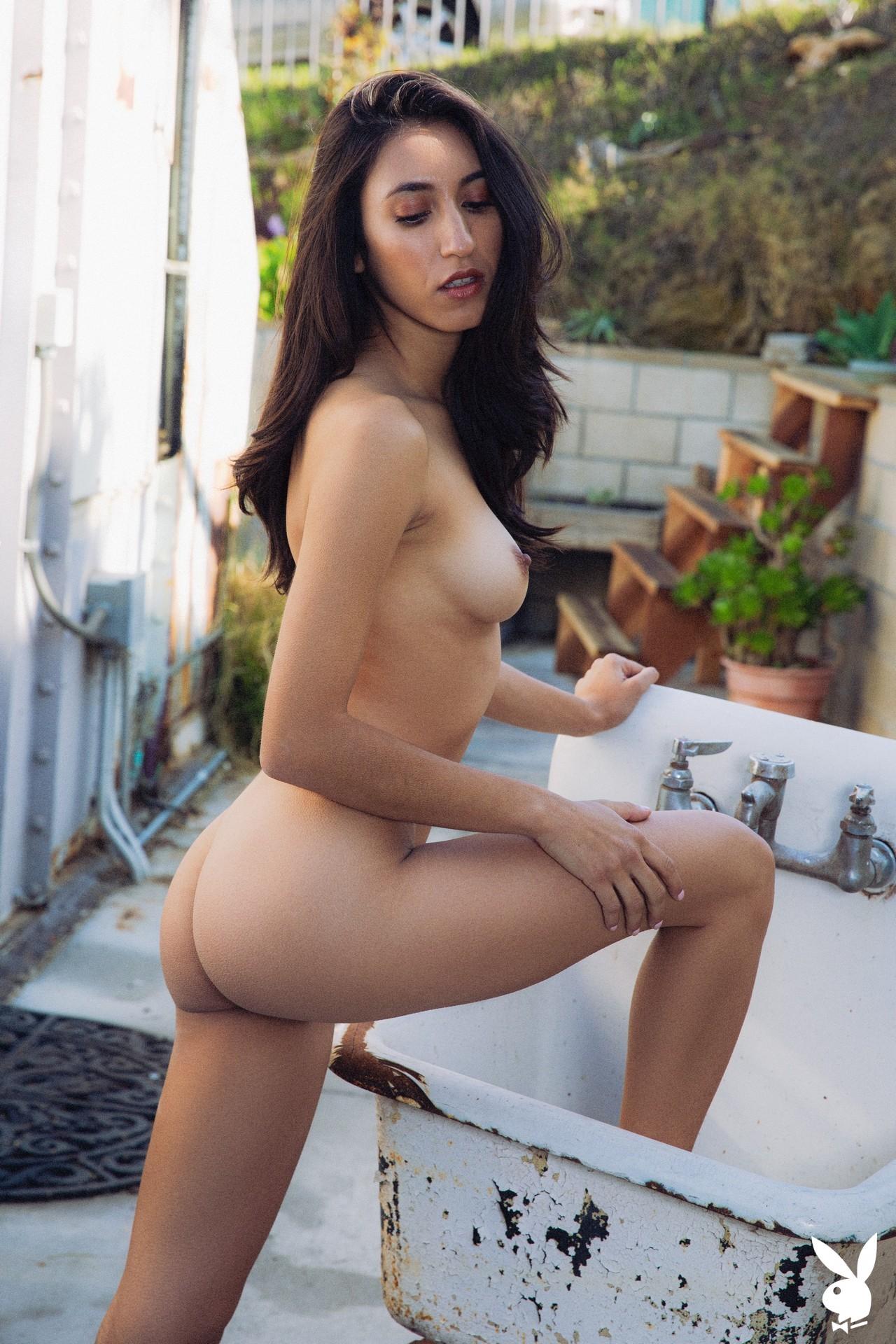 Deisy Leon In Summer Shade Playboy Plus (24)