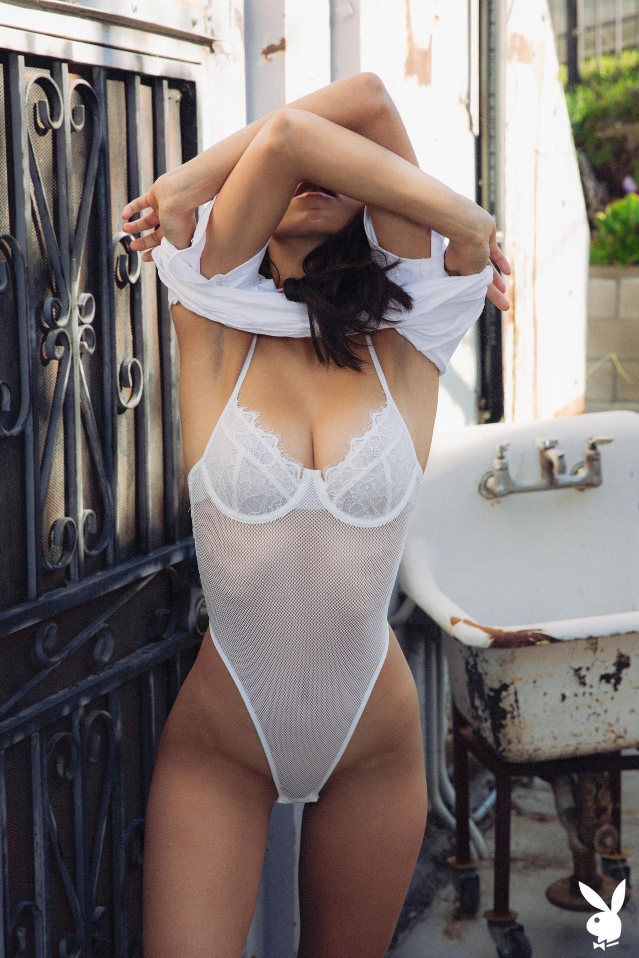 Deisy Leon In Summer Shade Playboy Plus (6)