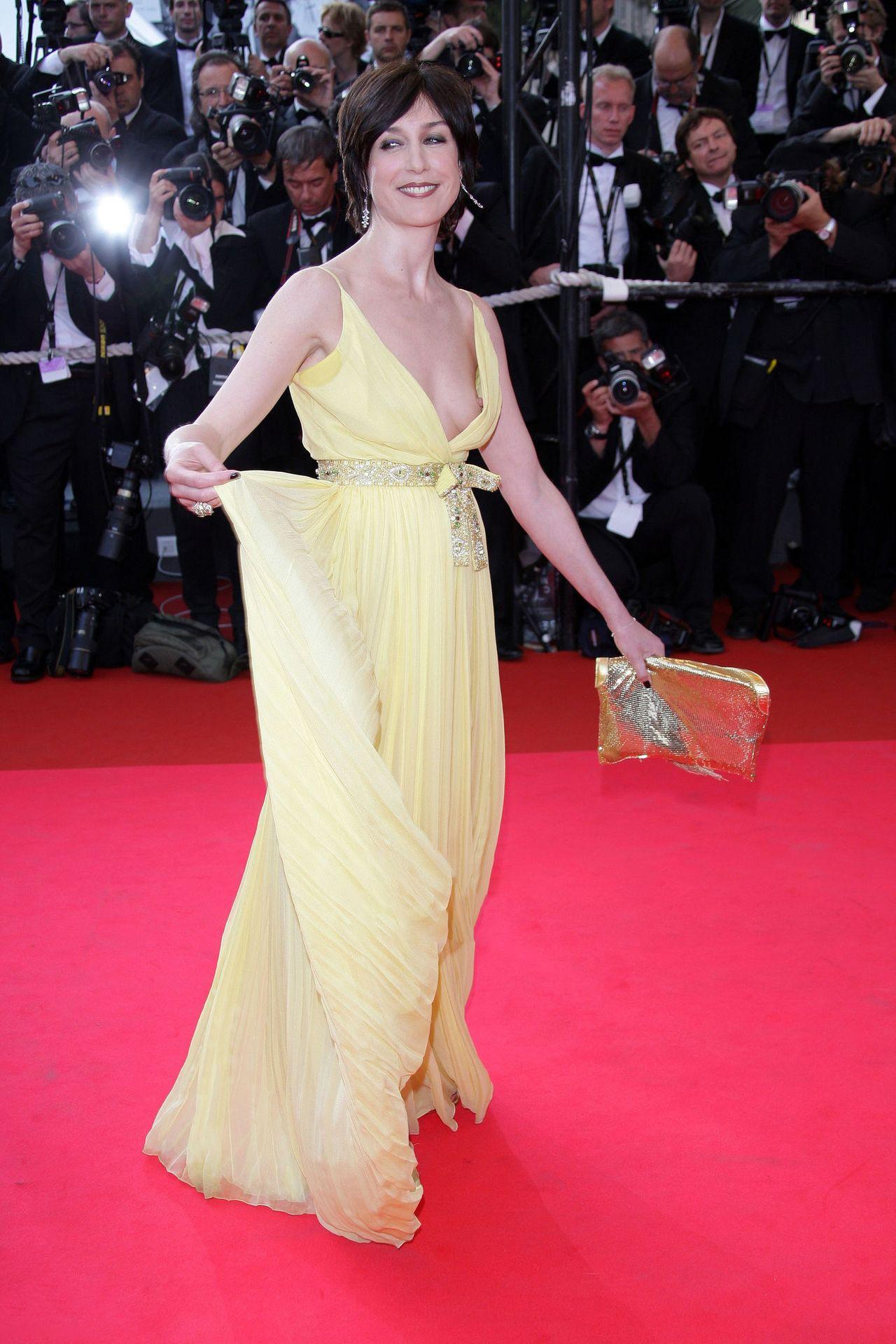 Η Γαλίδα ηθοποιός Elsa Zylberstein είχε Nip Slip σο