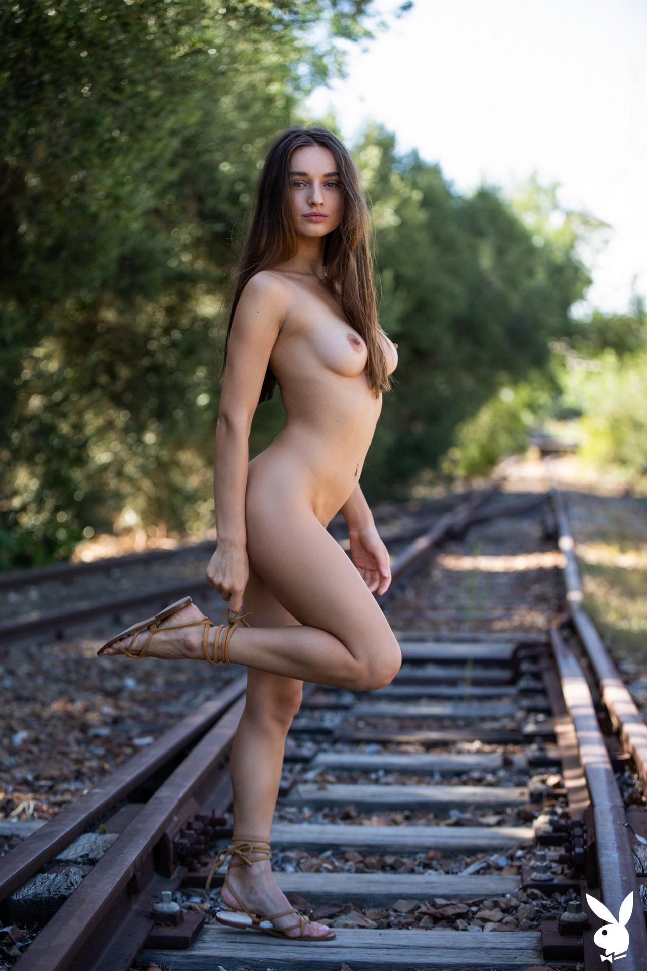 Gloria Sol In Fast Track Playboy Plus (14)