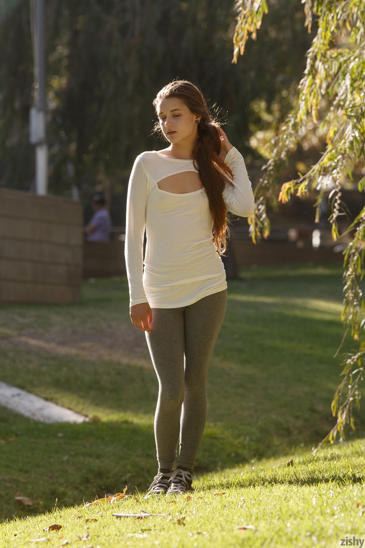 Alex Mae in the Park Unrated