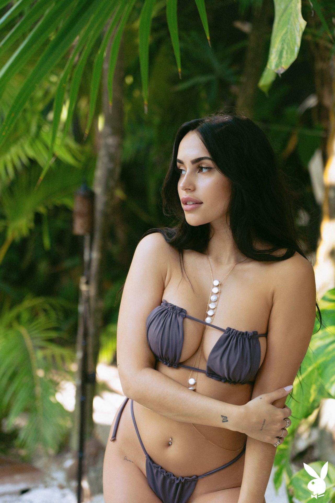Claudia Tihan In Island Attitude Playboy Plus (3)