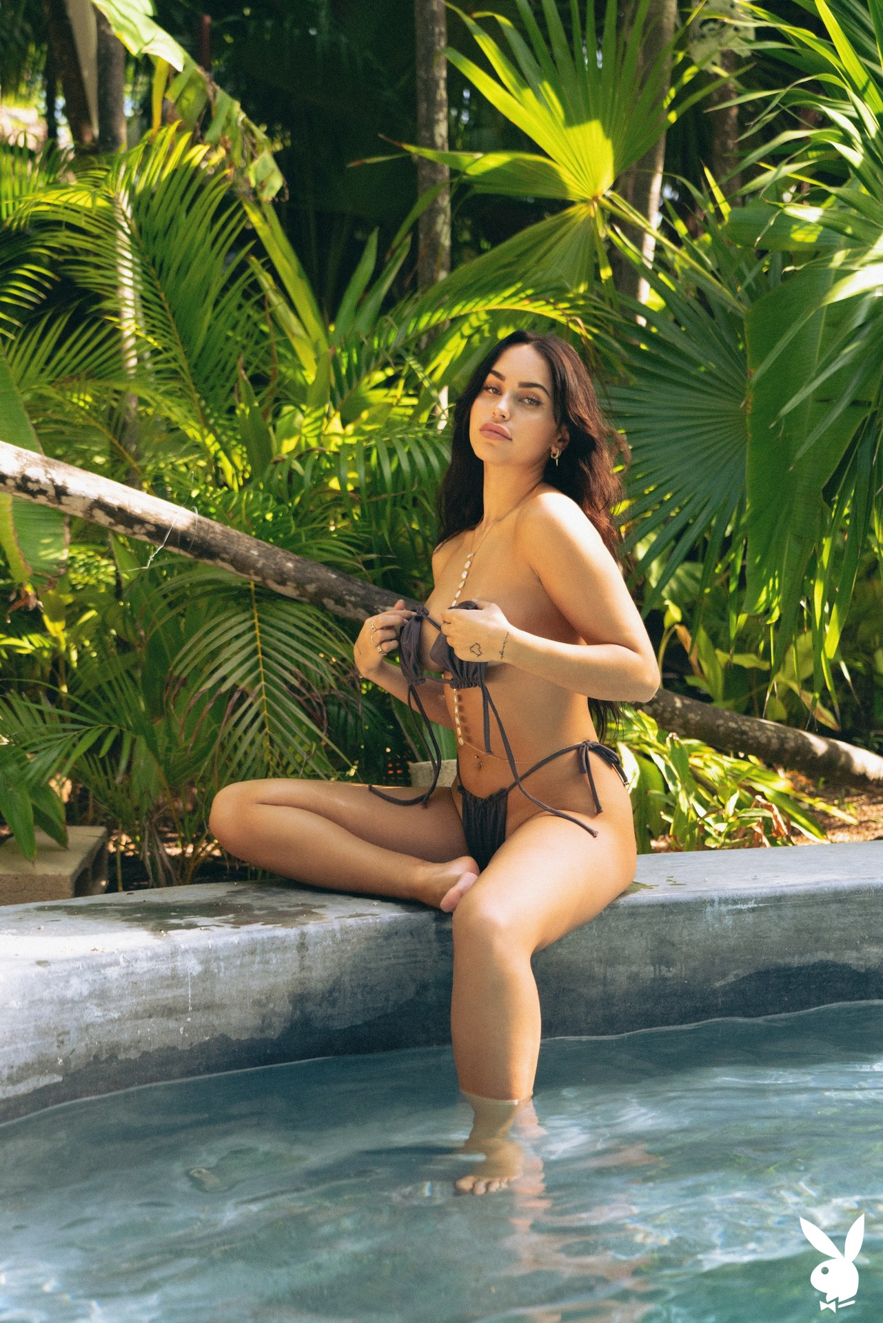 Claudia Tihan In Island Attitude Playboy Plus (8)