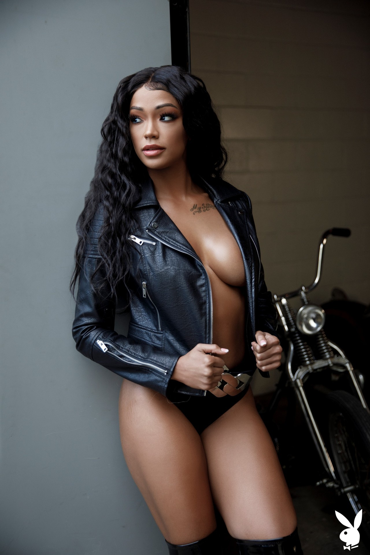 Harley Dean In Biker Chic Playboy Plus (4)