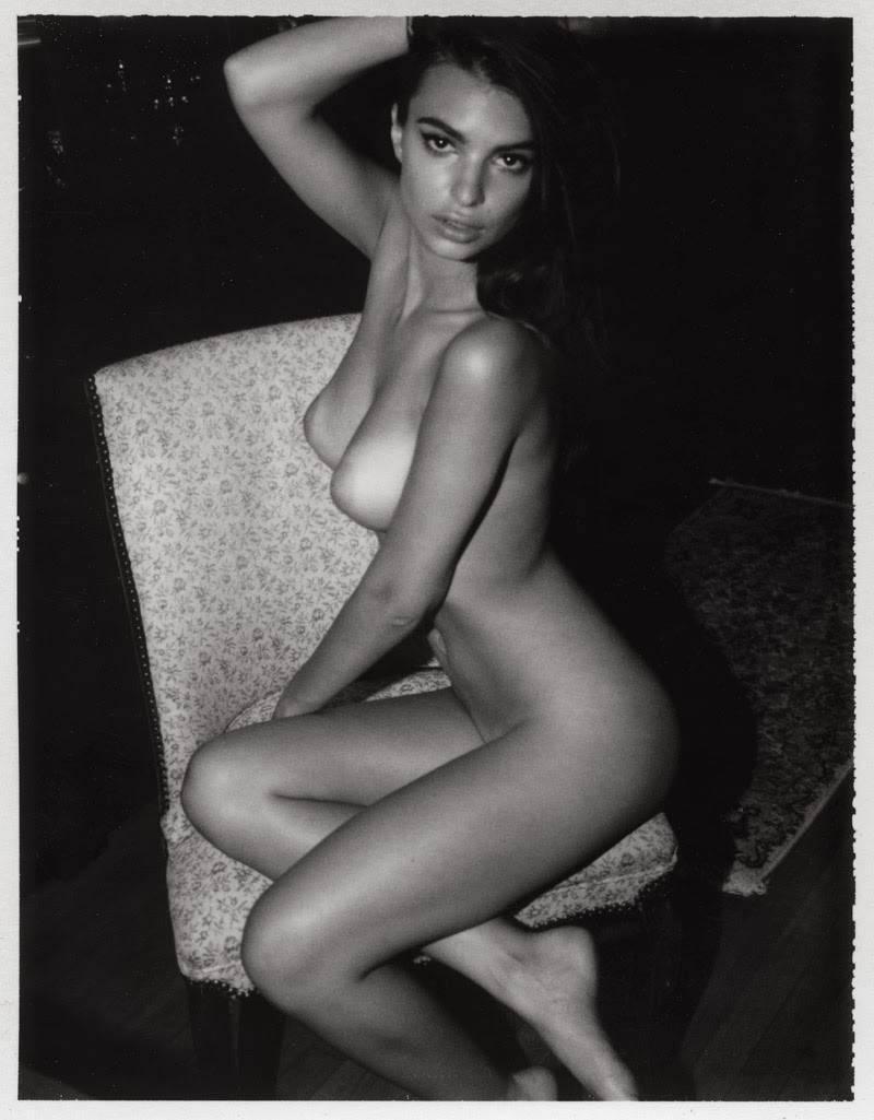 Emily Ratajkowski Nude Lounging Photoshoot Leaked Rihayf