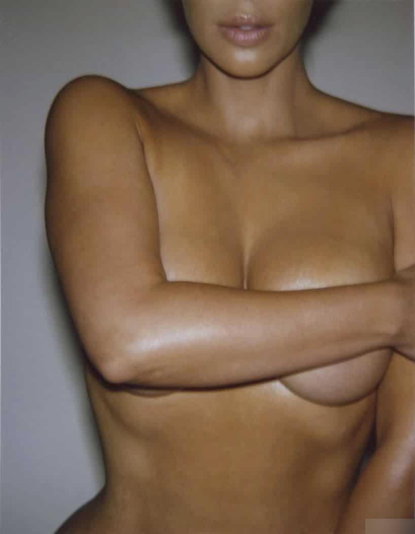 Kim Kardashian Nude Body Paint Set Leaked Tmjpir
