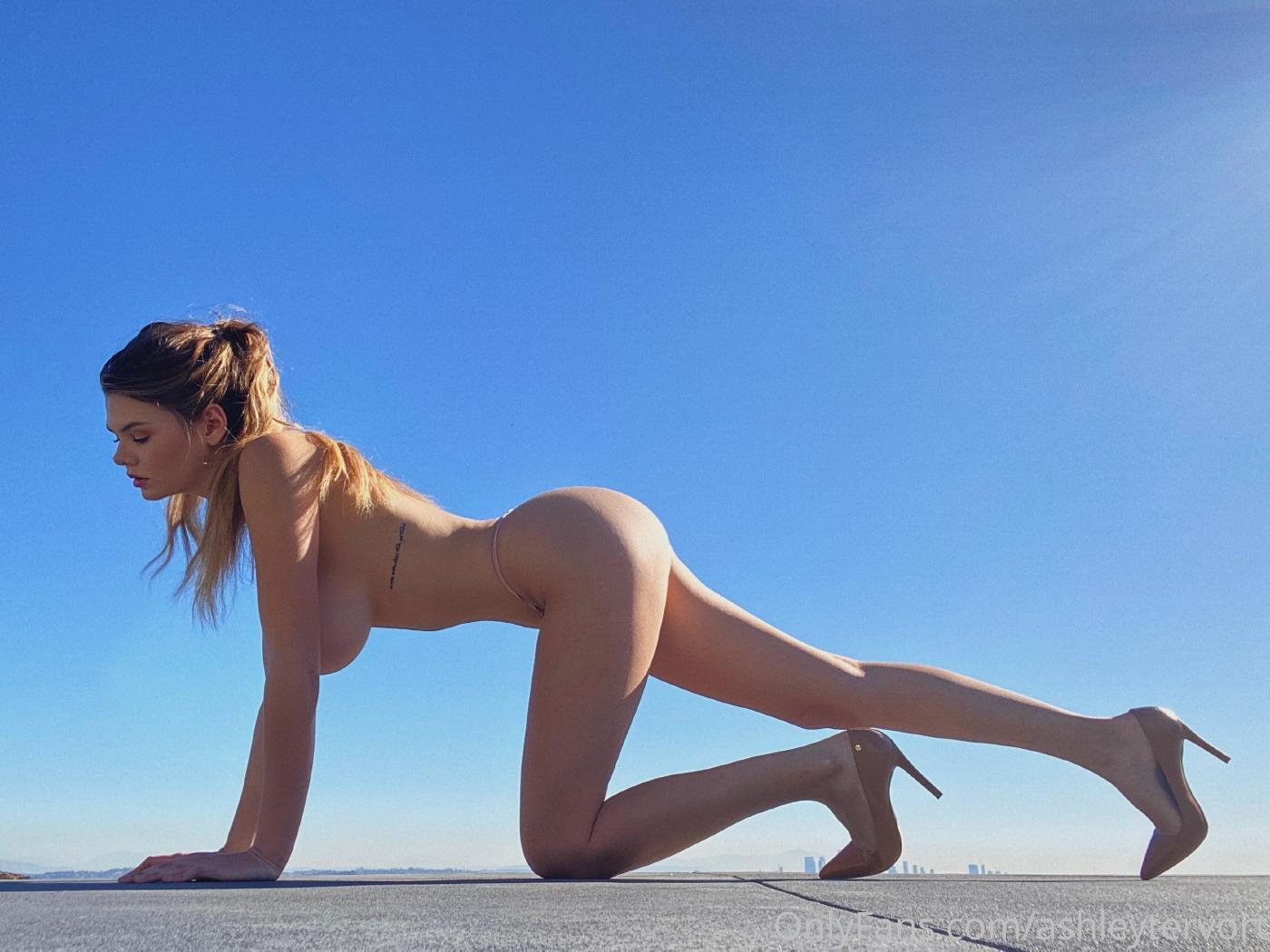 Ashley Tervort High Heels Nip Slip Onlyfans Set Leaked 0001