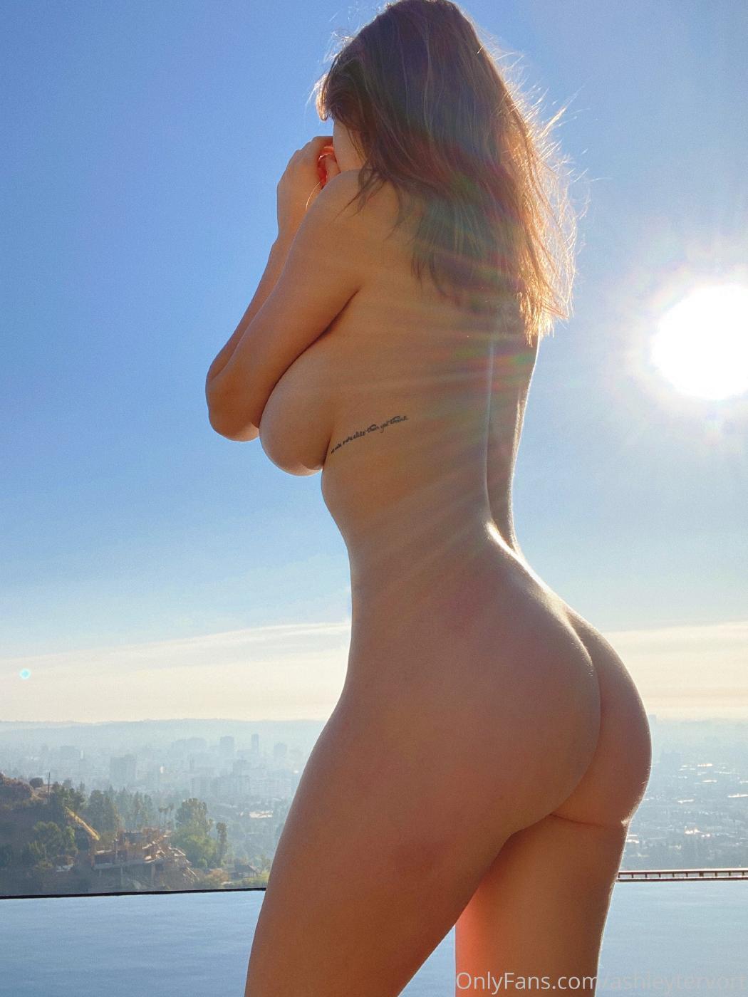 Ashley Tervort High Heels Nip Slip Onlyfans Set Leaked 0008