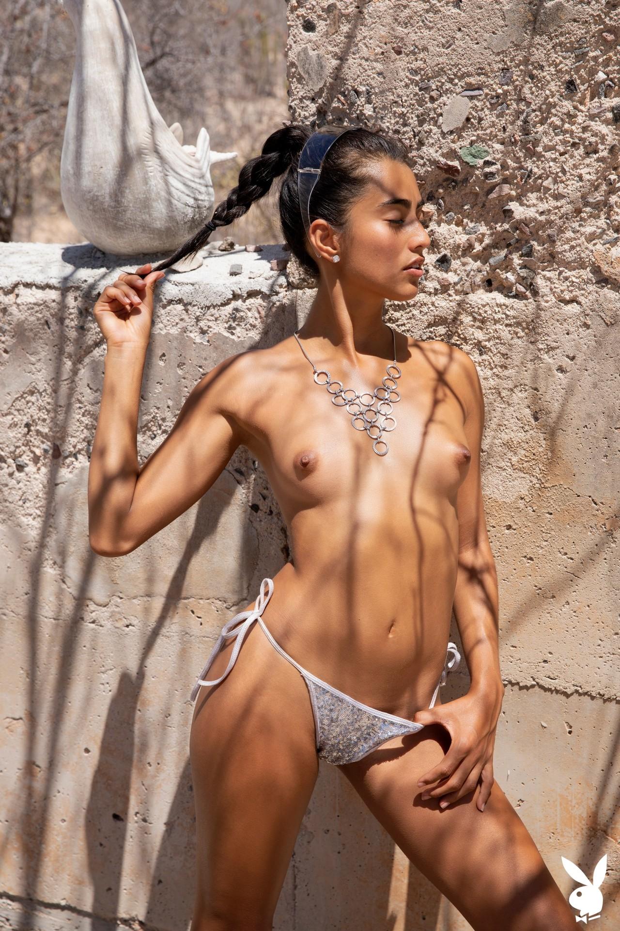 Katherinne Sofia In Silver Sun Playboy Plus (13)
