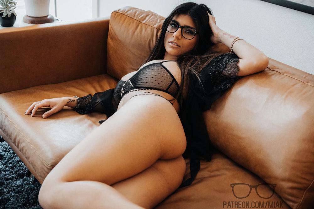 Mia Khalifa Lingerie Stiletto Heels Photoshoot Leaked 0012