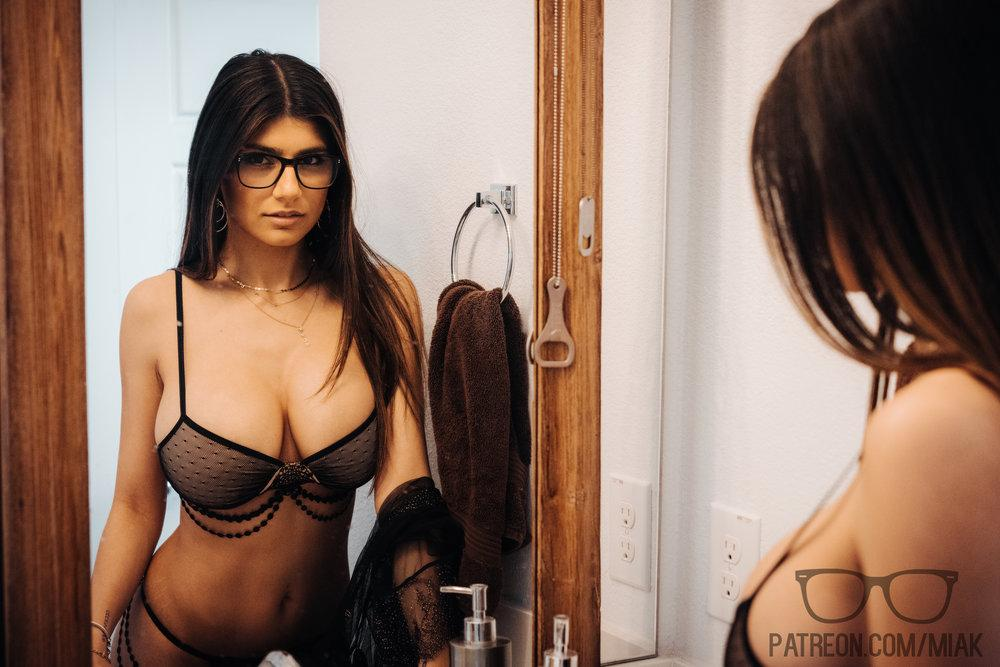 Mia Khalifa Lingerie Stiletto Heels Photoshoot Leaked 0021